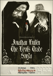 Jonathan Hultén (SE) + The Devils Trade (HU) + Sonya (HU)