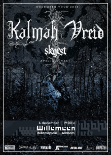 Kalmah (FIN) + Vreid (NO) + Slegest (NO)