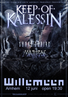 Keep Of Kalessin (NO) + Shade Empire (FIN) +  Malphas (USA)