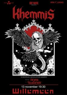 Khemmis (USA) + Iron Walrus (DE)