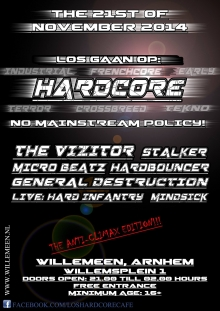 L.O.S hardcorecaf� The anti-climax edition met: The Vizitor