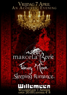 Marcela Bovio + February Moon + Sleeping Romance (ITA)