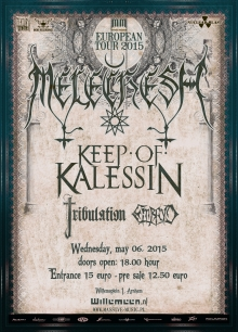 Melechesh (IL) + Keep Of Kalessin (NO) +Tribulation (SWE) + Embryo (IT) + Cvinger (SI)