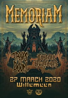 Memoriam (UK) + Support