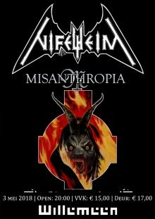 Nifelheim (SWE) + Misanthropia
