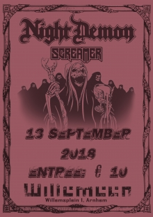 Night Demon (US) + Screamer (SWE)