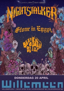 Nightstalker (GR) + Stone In Egypt + Black Burned Blimp