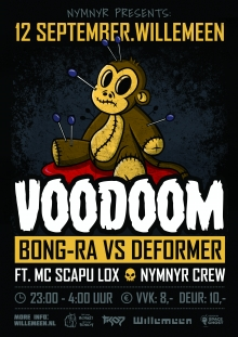 NYMNYR presents: Voodoom + Bong-Ra + Deformer + Not Your Monkey Not Your Robot
