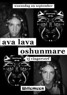 Oshunmare + Ava Lava + VJ Vingerverf