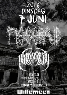 Pissgrave (US) + Phrenelith (DK) only NL show