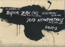 salon brut: tropical trash (US) + dead neanderthals