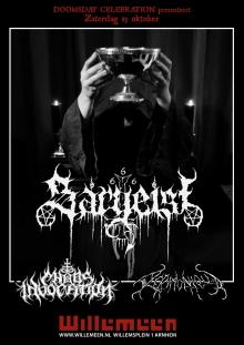 Sargeist (FI) + Chaos Invocation (DE) + Acrimonious (GR)