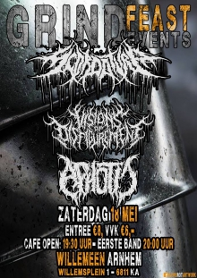 Scordatura (SCH) + Visions Of Disfigurement (UK) + Apothic