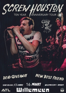 Screw Houston + Dead Giveaway + New Best Friend