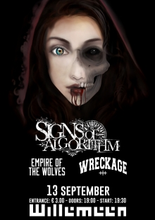 Signs of Algorithm (BE)+ Empire of the Wolves + Wreckage