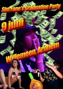 SIM FANE'S GRADUATION PARTY W/ Kringili X Alex Mega + Wivvamilie + Couteux Soundsystem + Atlas Era + Tea Fest + MC Dijkman + Sim Fane