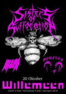 Sisters of Suffocation (album release show) + Deem Index + Mouflon