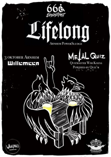 Sixsixsitfest presents: Lifelong + metal quiz