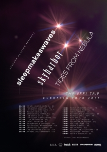 Sleepmakeswaves (AUS) + Skyharbor (UK) + Tides From Nebula (PL)