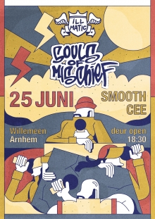 Souls of Mischief (USA) + DJ Smooth Cee ENIGE NL SHOW