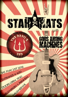 STAR*RATS (DK/Swe) + The Devil's 3rd + support