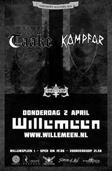 Taake (NO) + Kampfar (NO + Necrowretch