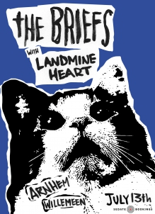 The Briefs (USA) + Landmine Heart