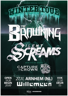 THE BROWNING (US) + SILENT SCREAMS (UK ) + CAPTURE THE CROWN (AUS) + WALKING WITH STRANGERS (SWE)