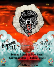 The Burning Hell (CAN) + Ocean Alley (AU) + Wolves Dressed In Sheep @ Park Open