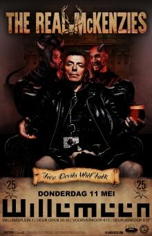 The Real McKenzies (UK) + Drunken Dolly