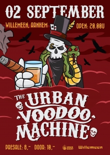 The Urban Voodoo Machine (UK) + JC Thomas & The Missing Slippers