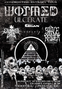 Ulcerate (NZ) + Wormed (ES) + Solace Of Requiem (US) + Gigan (US) + D�parte (AUS) + Cremated Lives (RUS)