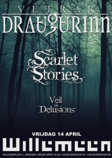 Vetrar Draugurinn + Scarlet Stories + Veil of Delusions