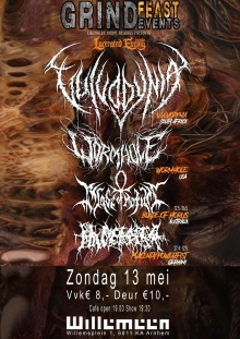 Vulvodynia (SA) + Placenta Powerfist (DE) +  Wormhole (USA) + Blade Of Horus (AUS)