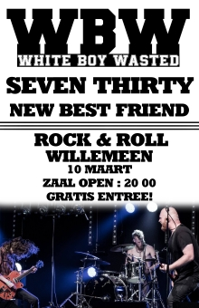 White Boy Wasted + Seventhirty + support