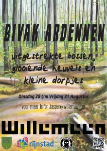 Willemeen Ardennen Bivak