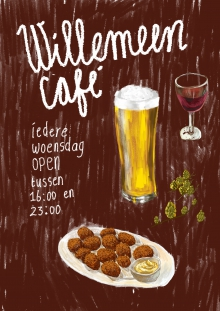 Willemeen Café + Acoustic Sessions Kunststof