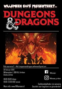 Willemeen Café - Dungeons & Dragons