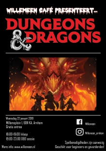 Willemeen Café - Dungeons & Dragons