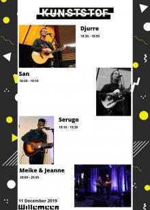 WillemeenCafe & Kunsstof Rijnijssel acoustic sessions