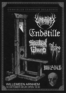 Winterfylleth (UK) + Endstille (DE) + Spectral Wound (CAN) + Afsky (DK) + Wrang