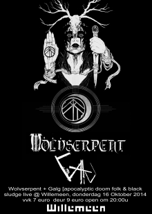 Wolvserpent (relapse US) + Galg